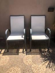 Cadeiras área externa