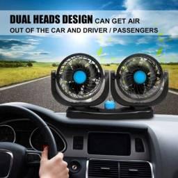 Aparelho ventilador duplo automotivo carro caminhao