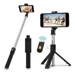 Tripe Bluetooth 2 em 1 pedestral tripe e pal de selfie