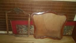 Molduras pra espelho em madeira