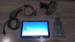"Gps Discovery 600mhz mtc3572 slim tela 7.0"" tv digital"