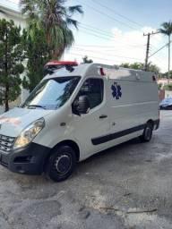 Master l2h2 grand 2019 ar condicionado uti ambulância