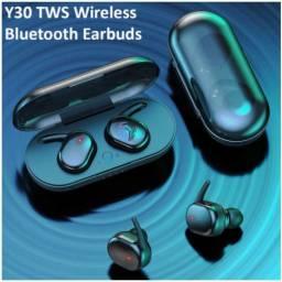 Y30 Mini Fone De Ouvido Sem Fio /5.0/Esteréo Binaural Para Esportes Ao Ar Livre