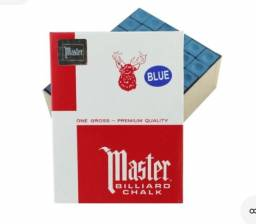 Vendo Giz Profissional Sinuca Master azul Grosa, 144uni