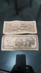 Notas dinheiro antigo