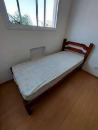 Vendo cama de solteiro com colchão