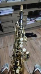 Saxofone soprano Eagle sp 502 gb novissimo