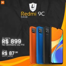 Celular Xiaomi Redmi 9C 64GB - Novo c/ Garantia