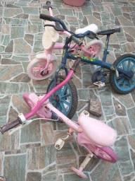 Bicicleta para conserto