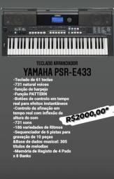 Título do anúncio: Teclado Yamaha PSR-E433