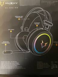 Headset gamer husky gaming polar, stereo, driver 50mm, rainbow hs-hpo-rw