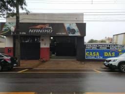Oficina de pintura automotiva