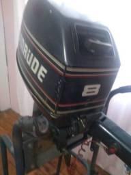 Motor de popa evinrude 8 hp