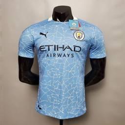 Camisa Manchester City Puma 2020/2021. Entregamos na sua casa via motoboy