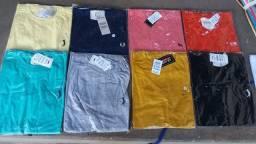 Camisetas Multimarcas - Algodão fio 30.1