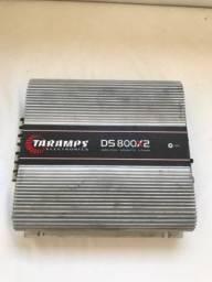 Potencia Taramps 800w Rms 2 Canais Ds800 2 Ohms Ds800x2 Modulo