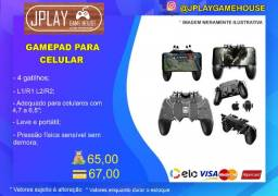 Gamepad 4 gatilhos AK66