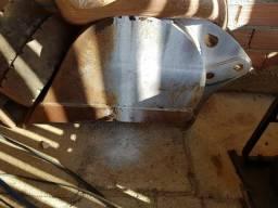 2 concha da retro escavadeira uma casa outra new hollan