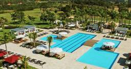 Maravilhoso terreno perto do lago, dentro do condomínio Santa Barbara Resort Residence