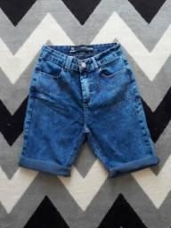 Short jeans (não troco) tam 38