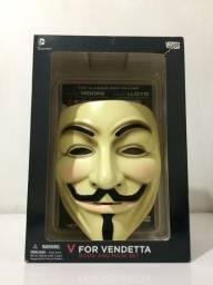 V de Vingança máscara + HQ em ingles