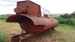 Tanque pipa agricola Andrade para agua, capacidade 15000 litros