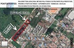 Terreno para construtores 15x55
