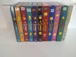 DVDs dos Simpsons 1 a 11 temporadas
