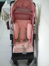 Carrinho de bebê Tutti Baby com Bebê conforto