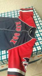 Camisa baiseboll Red sox
