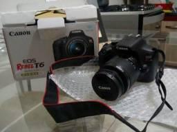 Câmera Rebel t6 Canon