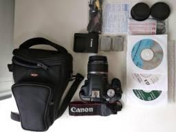 Câmera profissional Canon Rebel T1i 500D DSLR