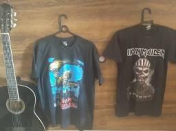 Camisas série: clássicos do Rock