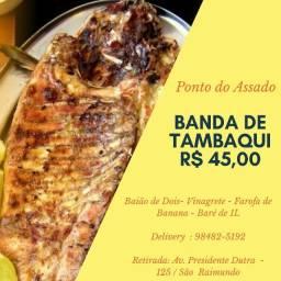 Peixe assado/ São Raimundo/Glória/Santo Antônio