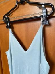 Vestido de Camurça Tam P/M (Forever 21)