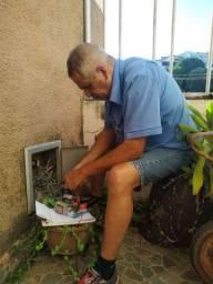 Serviço de serralheiro, instalação de motor portão eletrônico