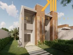 Casa Duplex em Eusébio-CE, 3 quartos sendo 1 suítes, Garagem com 1 vaga para carro e moto,