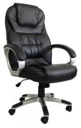Cadeira presidente escritório massagem e aquecimento