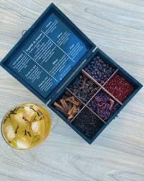 Caixa de especiarias para gin