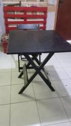 Jogo de mesa, 3 jogos de mesa! com cadeiras.