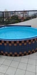 Apartamento em Bombas com piscina aluguel temporada