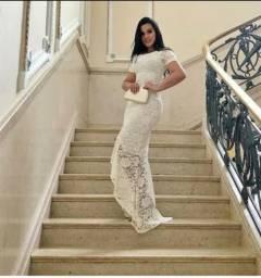Vestido Longo Sereia Mullet