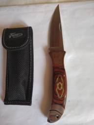 Canivete metal/madeira
