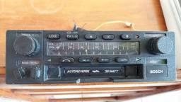 Radio toca fita bosch miami 1 auto reverse. 25 watt