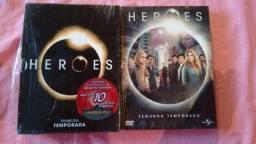 Heroes Dvds Temporadas 01 E 02. Formato Digipack!