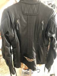 Jaqueta da Harley Davidson de couro