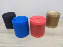 Caixa de Som HF-Q3 Bluetooth com Suporte Para Celular