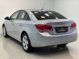 Cruze sedan lt automático 2013 completíssimo + couro. léo careta veículos