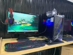 Computador Gamer Amd 8gb Geforce 1gb 128bits Hd ssd 240