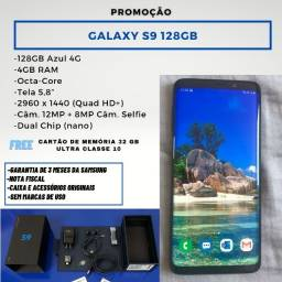Galaxy S9 128 gb + SSD ultra 32GB